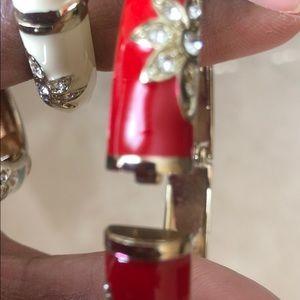 Talbots Jewelry - Set of 3 BEAUTIFUL ENAMEL BANGLES from TALBOTS